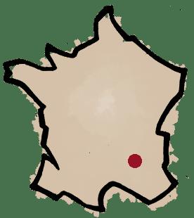Carte du domaine Sylvain Bock