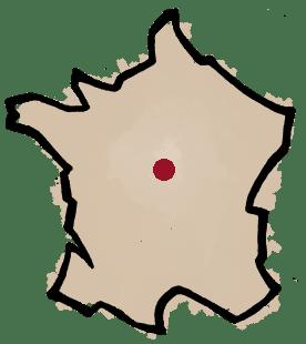 Carte du domaine Alexandre Bain