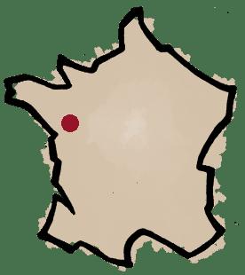 carte domaine de l'Ecu