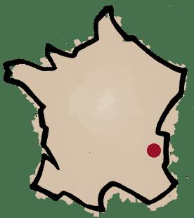 Carte domaine des 13 lunes en Savoie