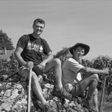 Frédéric, David & Clément Genton du Domaine giachino, vin naturel en savoie