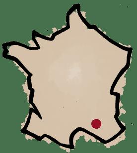 Carte domaine de Marcoux