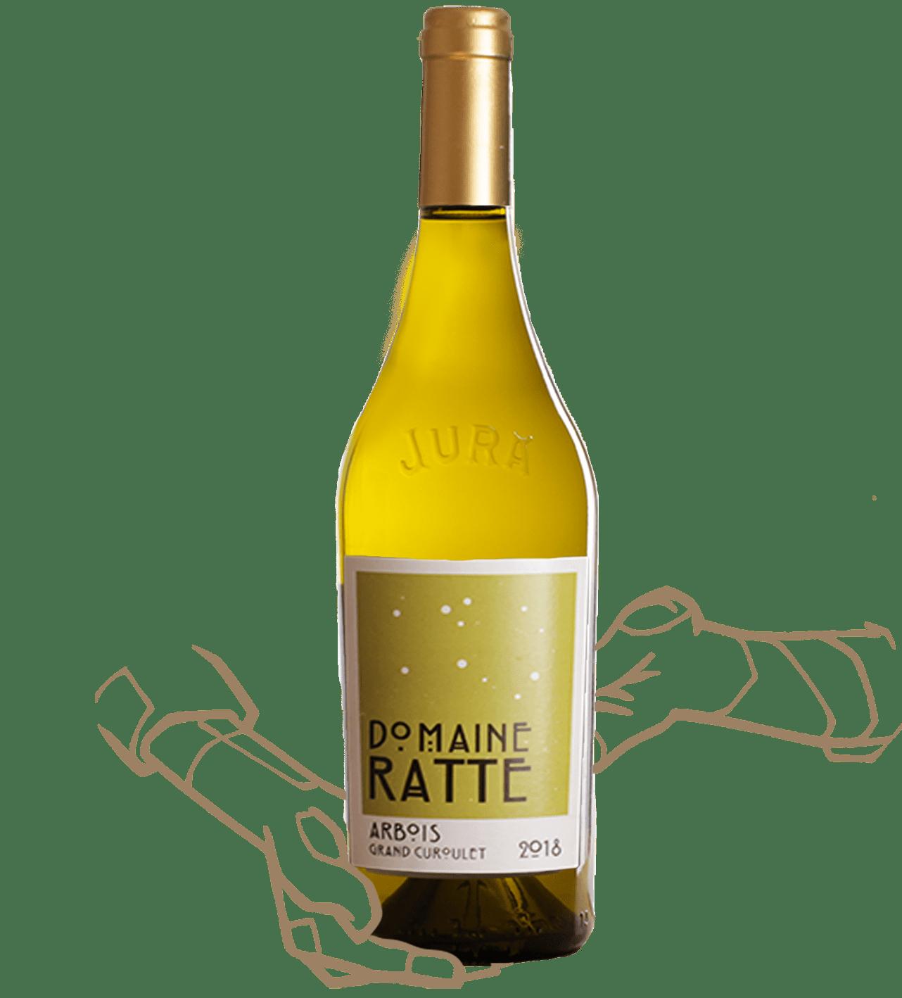 Grand curoulet du domaine de ratte est un vin naturel du Jura