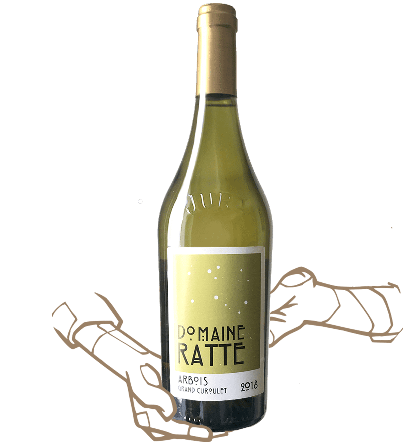 Grand Curoulet by Domain Ratte is a natural wine from Jura