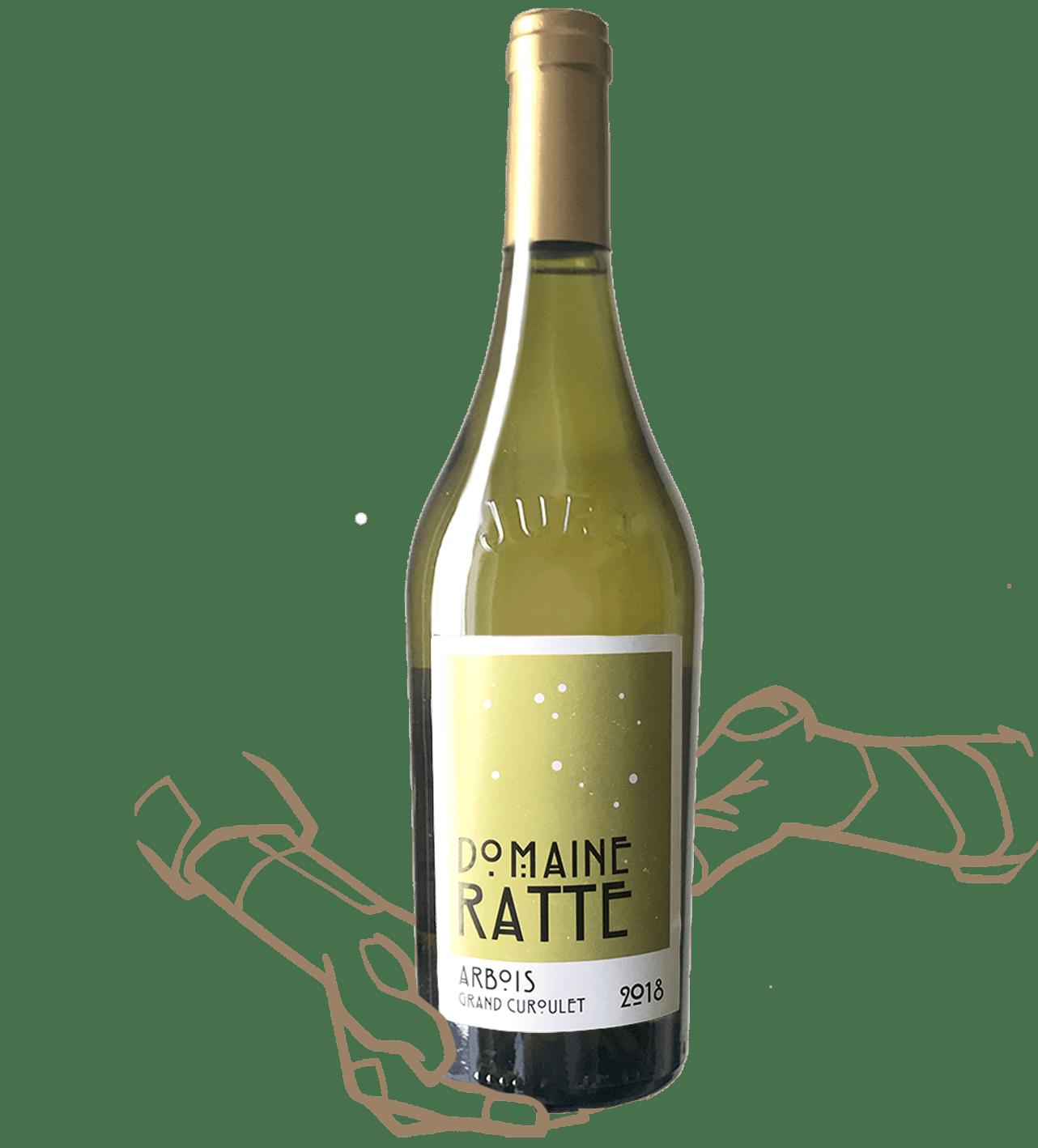 Domaine Ratte - Grand Curoulet, vin naturel du Jura