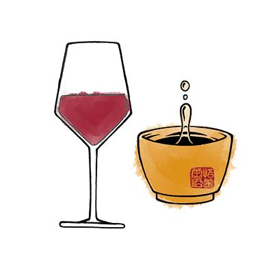 points communs entre vin et thé