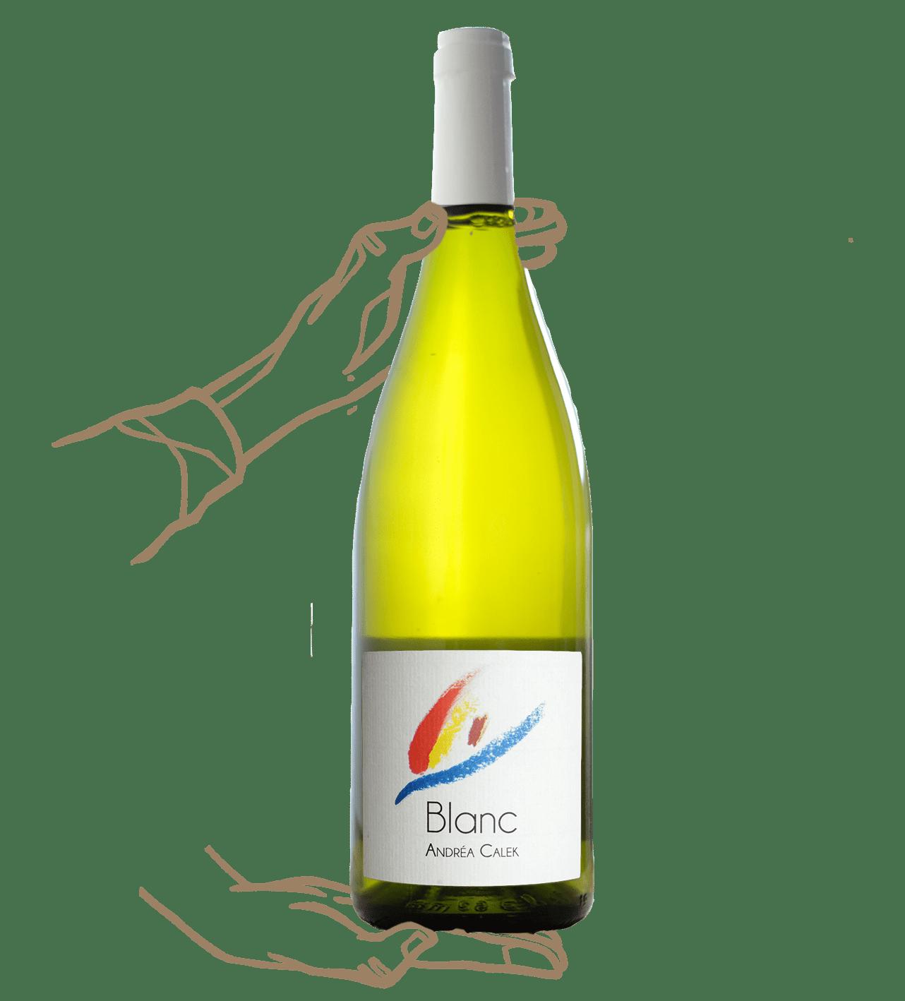 Blanc d'André Calek est un vin naturel