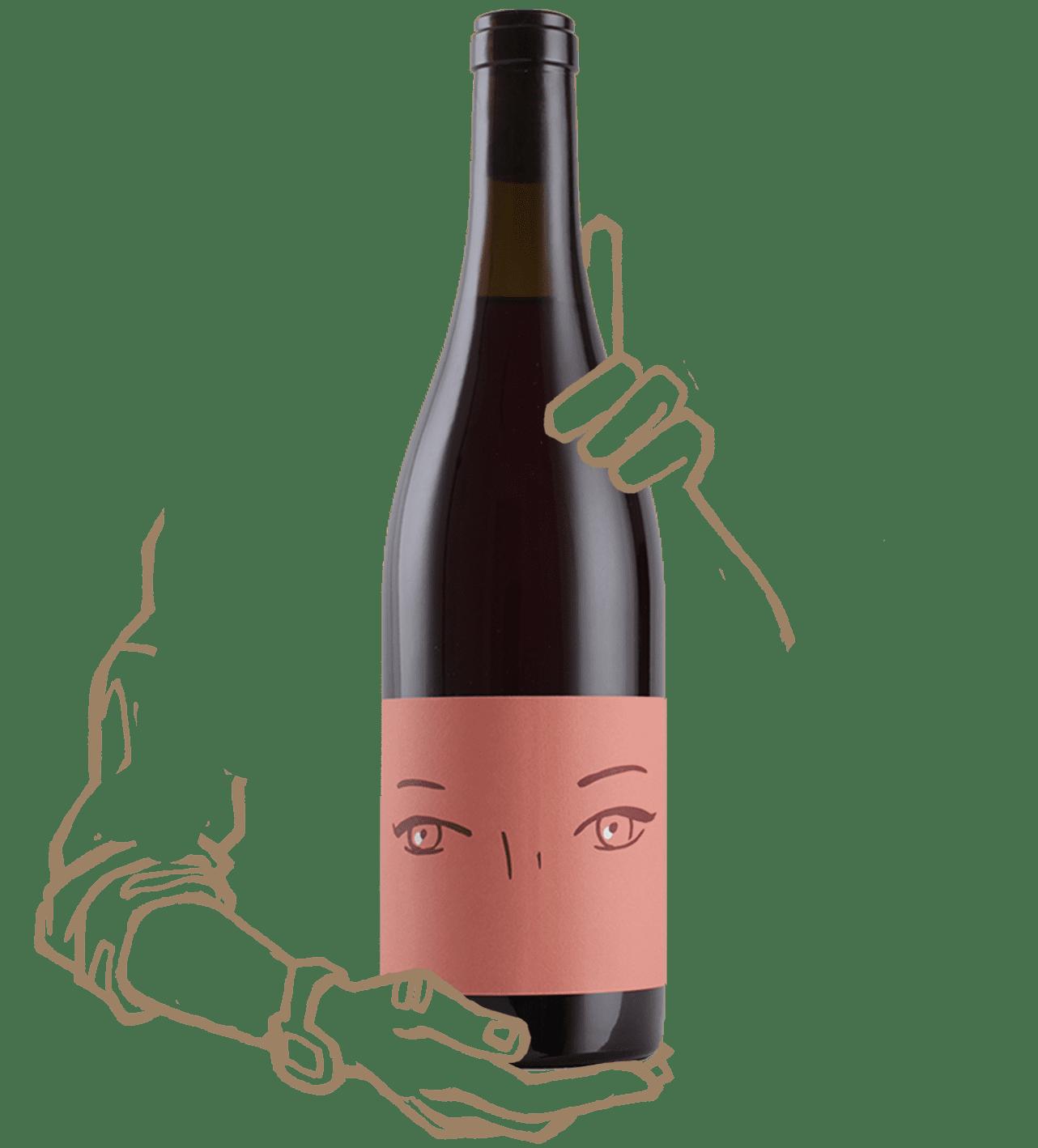 Fatale est un rosé du vin des potes X Catherine Bernard
