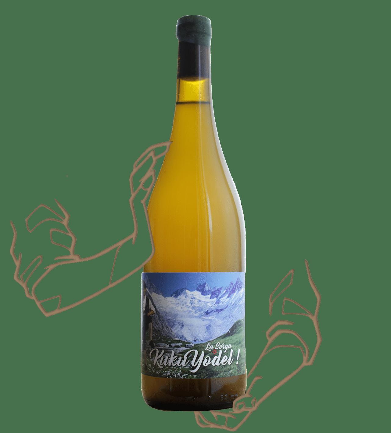 Kukuyodel - La sorga est un vin orange