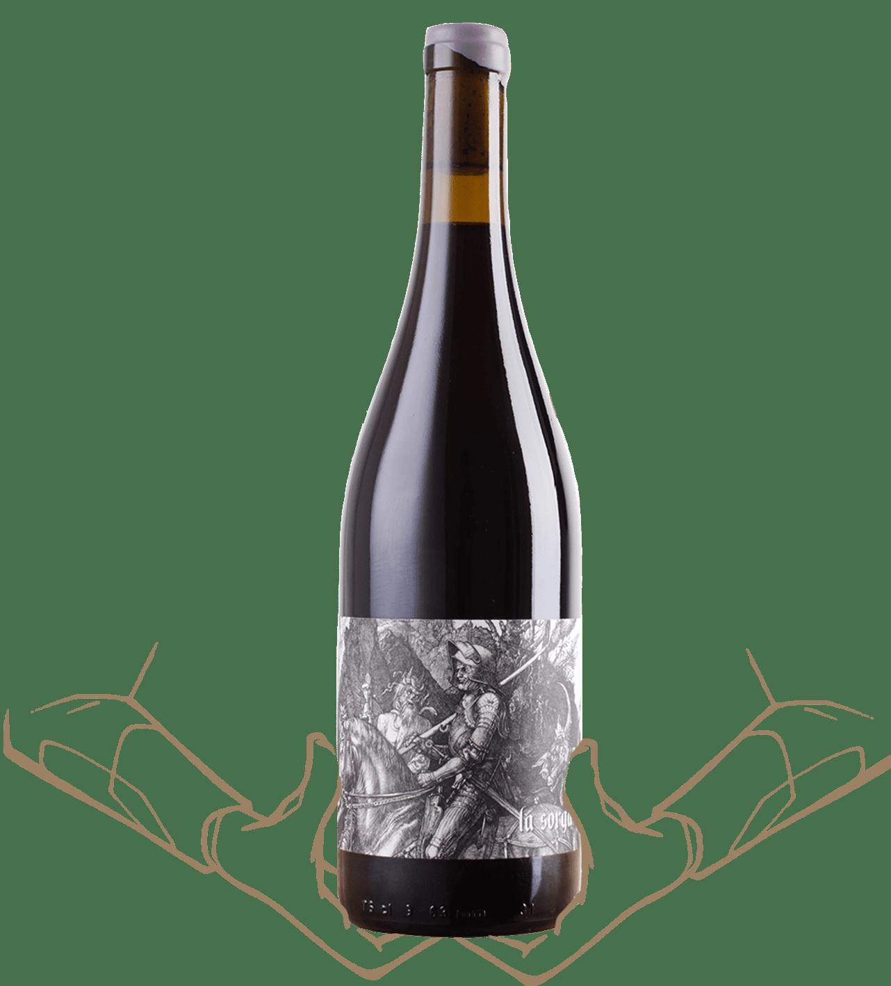 le rouge de la sorga est un vin naturel sans sulfite ajoutés