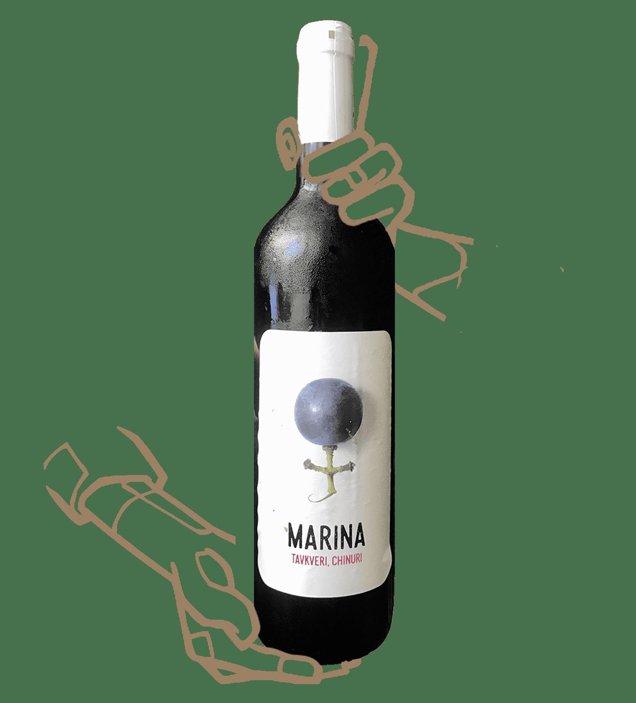 MARINA ROSé de IAGO'S WINE est un vin naturel de Géorgie