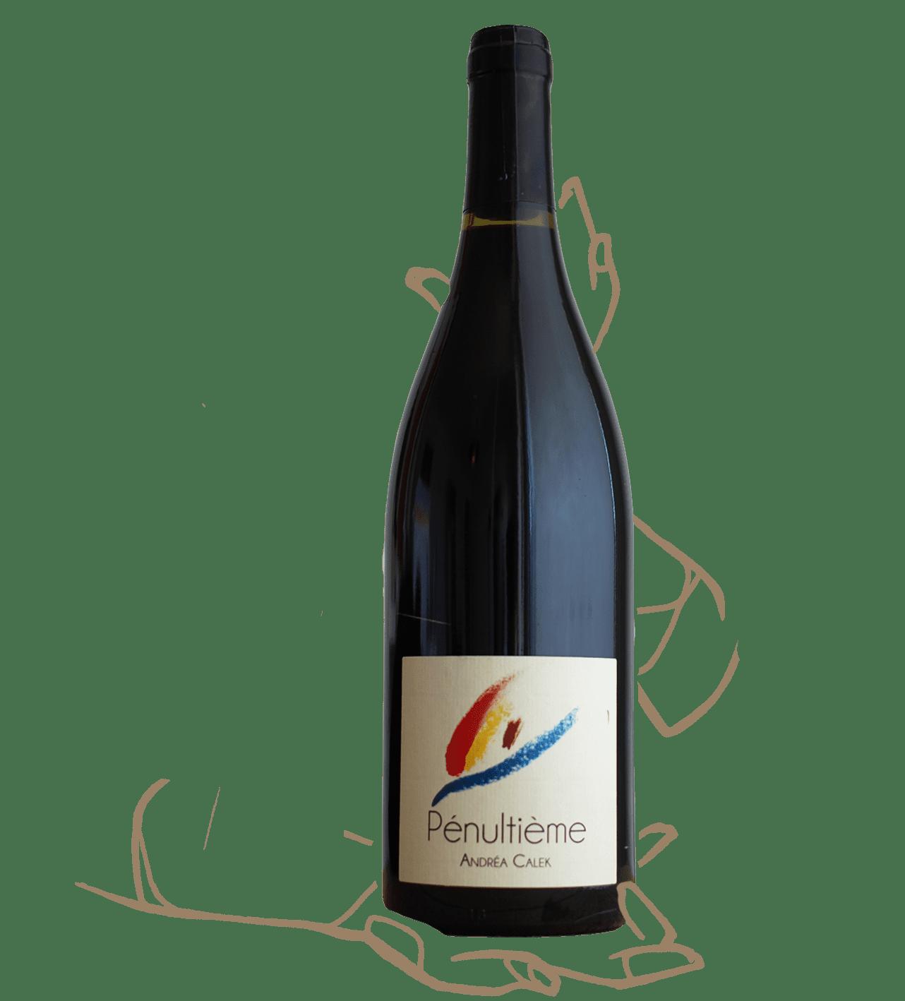 Pénultième est un vin naturel d'Andrea Calek