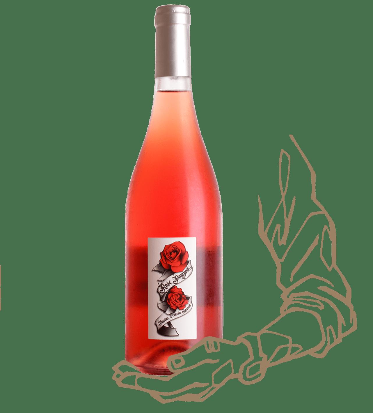 Rose Pompon est un vin rosé naturel de Maxime François Laurent (Gramenon)