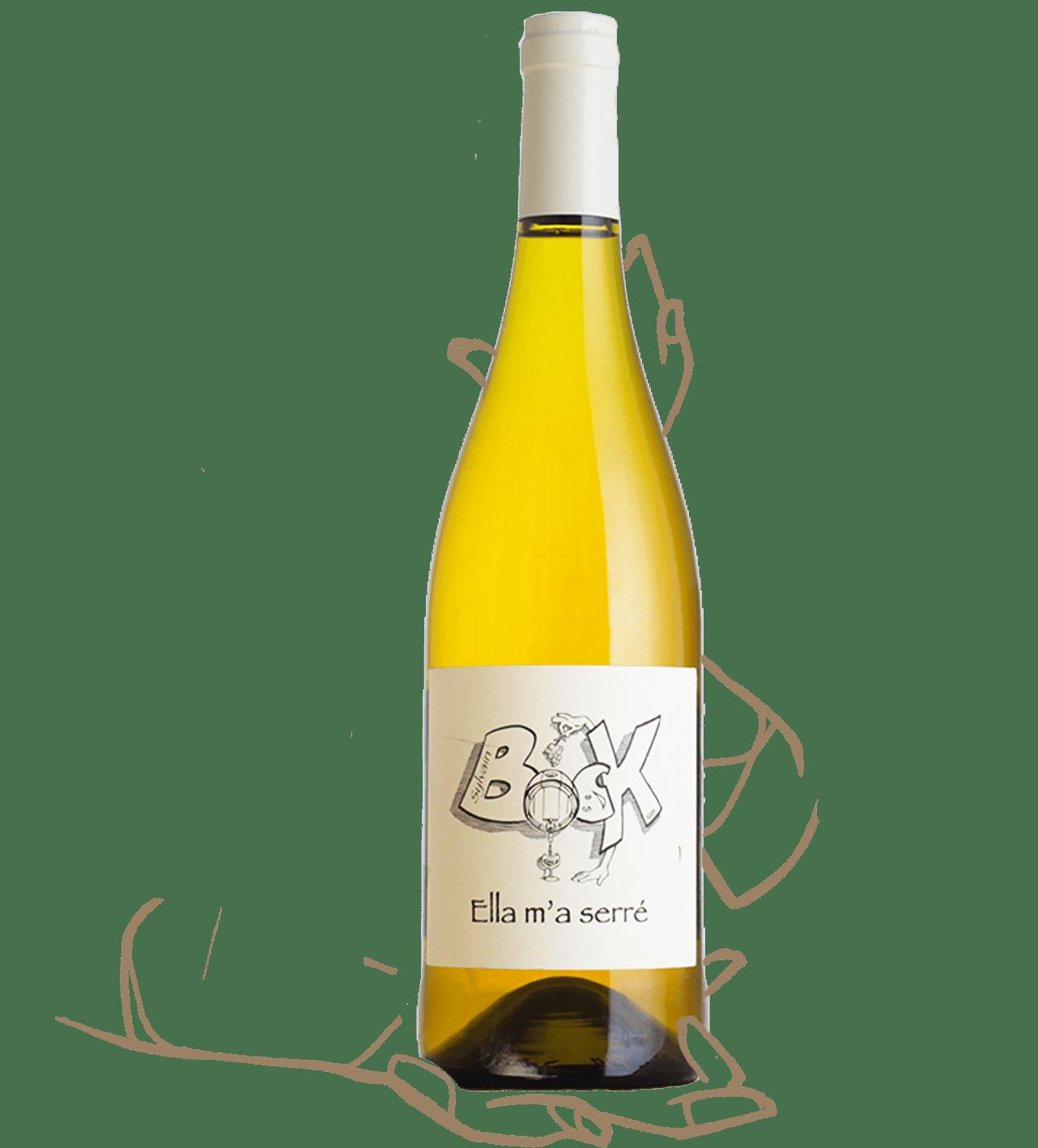 Sylvain Bock - Ella m'a serré est un vin nature