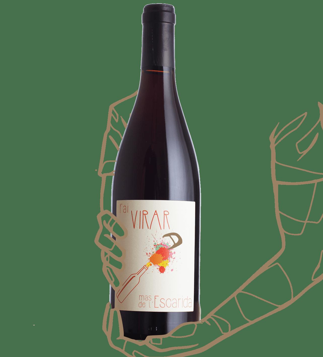 Mas de l'Escarida - Fai virar est un vin naturel