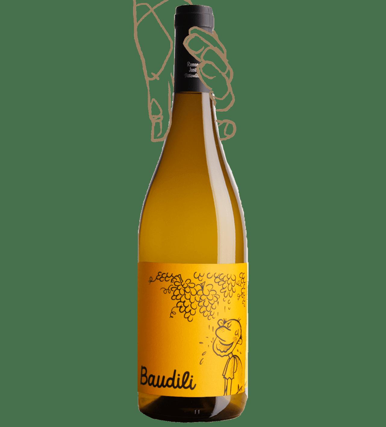 Baudili blanc est vin nature du Mas Candi