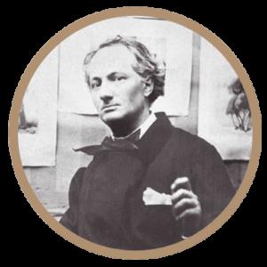 Charles Baudelaire et vin