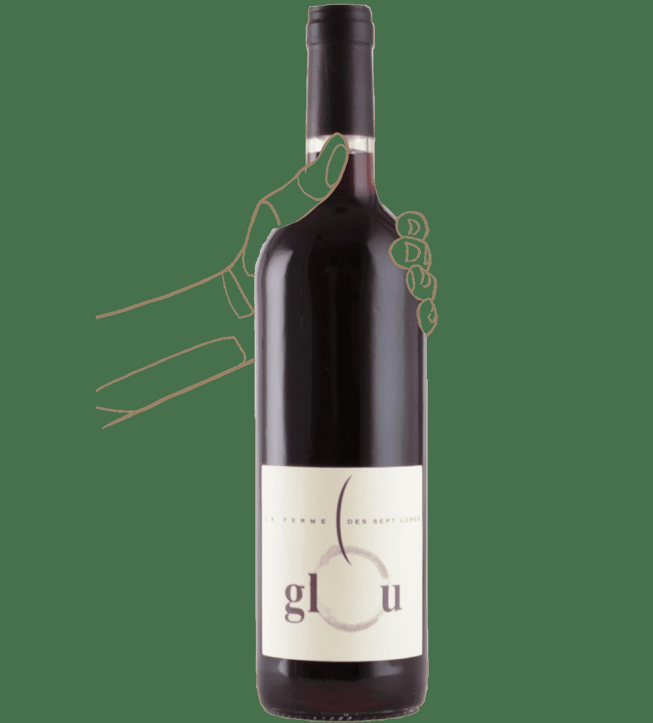 Glou de la ferme de 7 lunes est un vin nature