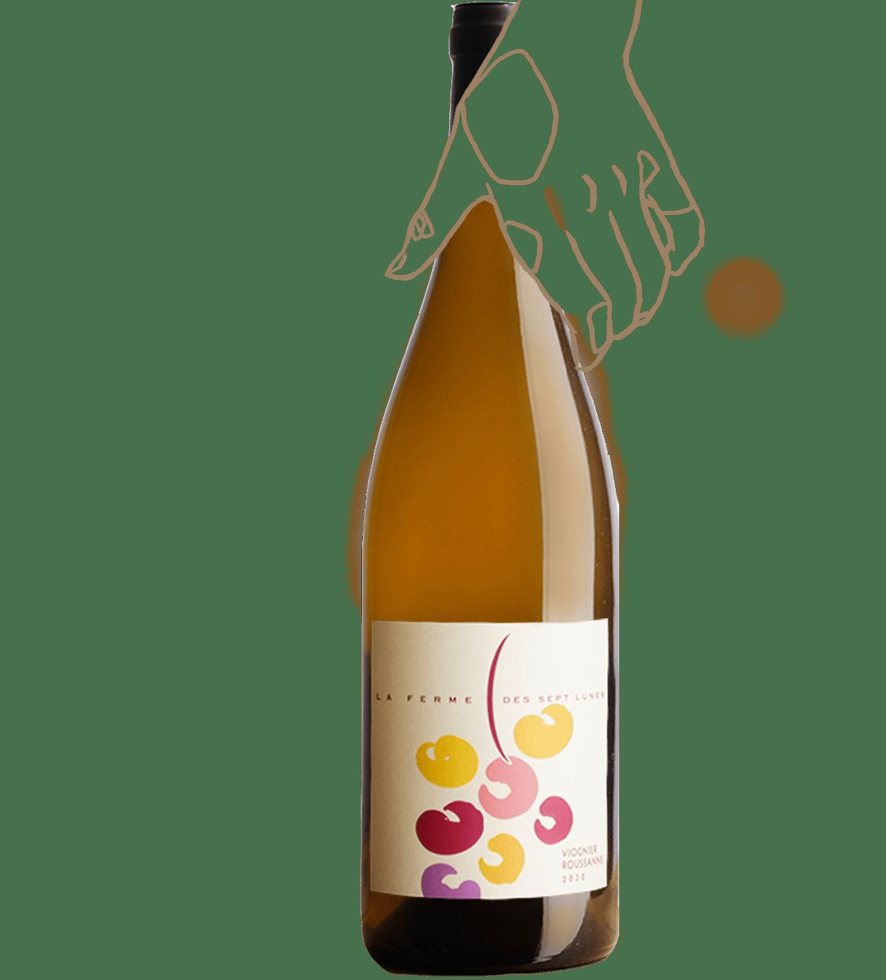 Viognier - Roussanne est un vin nature de la Ferme des 7 lunes